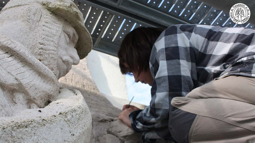 Restauration du monument